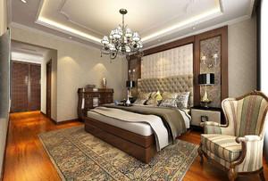 欧式奢华风格卧室吊顶设计