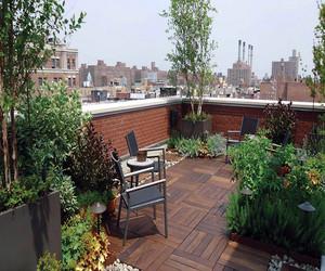 别墅楼顶花园设计图