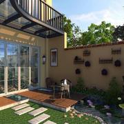 家庭花园设计实景