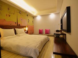 轻快风格酒店室内装修设计效果图赏析