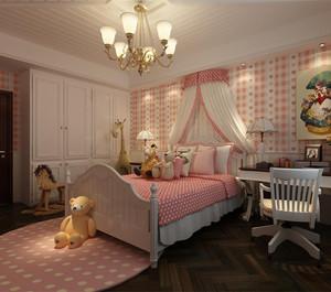 多彩可爱儿童房装修效果图