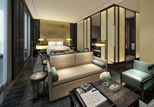 现代简约酒店装修效果图案列赏析