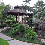 小别墅花园设计实景图