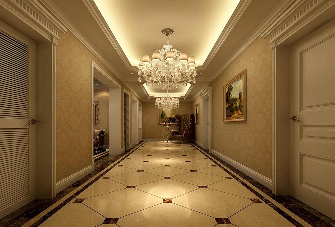 欧式走廊装修效果图