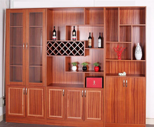 实木酒柜装修效果图案例