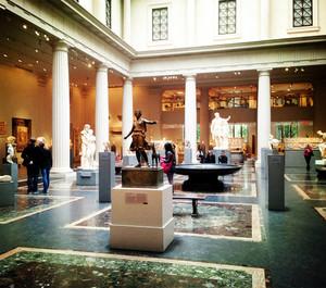 复古博物馆大厅装修效果图