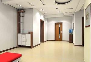 现代门厅吊顶装修效果图