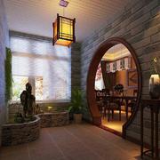 空间其他中式花园大户型装修