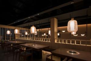 大型餐厅装修效果图
