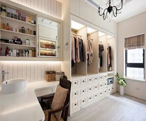 衣帽间和书房一体设计效果图