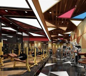 多功能健身房装修效果图