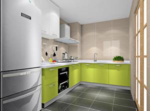 厨房现代简约装修风格效果图