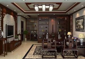 古典风格客厅吊顶效果图