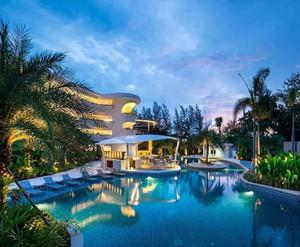 自然风格度假酒店设计效果图赏析