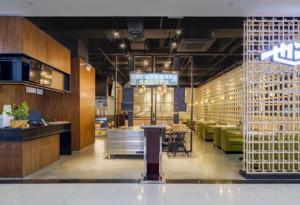 快餐厅装修效果图赏析