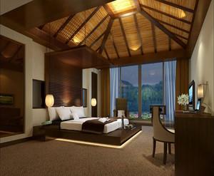 度假酒店室内设计效果图