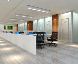 600平米现代风格写字楼设计效果图