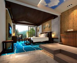 现代风格度假酒店设计效果图赏析