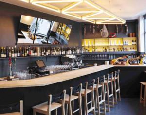 都市风格酒吧装修设计效果图