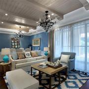 地中海风格客厅装修图