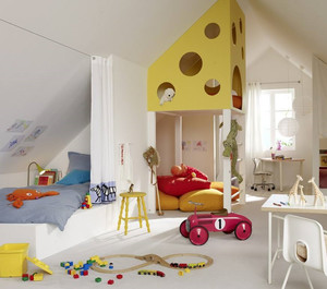 可爱儿童房装修效果图赏析