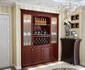 中式风格酒柜装修效果图赏析