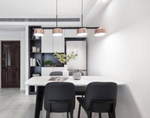 100平米居室简约风格餐厅装修效果图