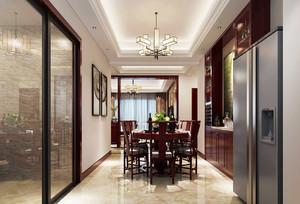 中式风格餐厅吊顶装修效果图