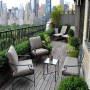阳台花园设计实景图片