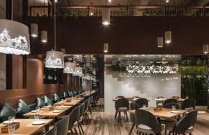 530平米西餐厅装修效果图