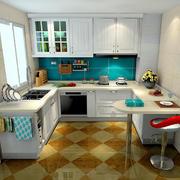 厨房整体设计效果图