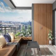 现代简约风格阳台装修设计效果图赏析