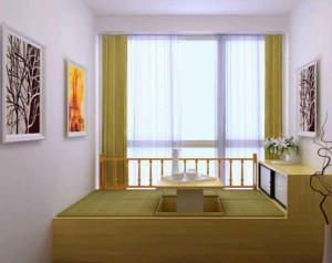 现代风格卧室榻榻米装修设计效果图