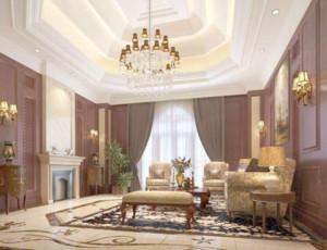 简欧风格会客厅装修设计效果图