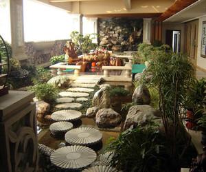 10平阳台花园实景图片
