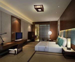 现代简约酒店室内装修效果图