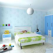 小清新儿童房装修效果图