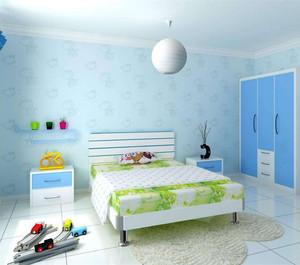 小清新兒童房裝修效果圖