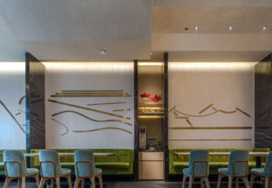 200平米清新风餐厅设计