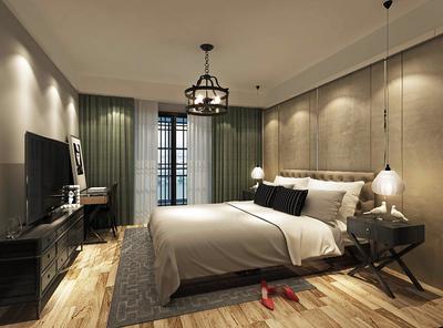 卧室地面装修效果图