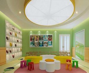 清新自然风格幼儿园装修效果图欣赏