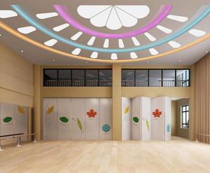 轻快风格幼儿园室内装修效果图