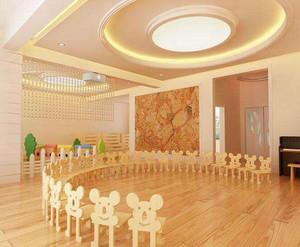 简约风格幼儿园室内装修效果图