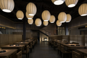 1000平米餐厅装修效果图