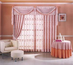 缤纷色彩窗帘效果图