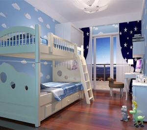多彩搭配儿童房装修效果图