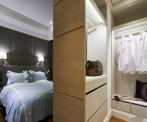 卧室隔出衣帽间效果图
