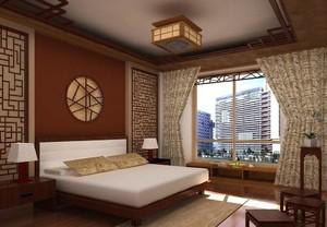 古典风格卧室吊顶装修效果图