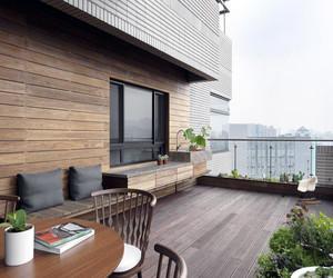 露天阳台花园装修图片