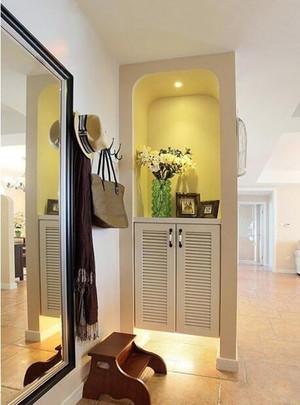 进门玄关鞋柜设计效果图